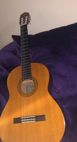 Used Yamaha -Classical Guitar,Brown+bag+picks in Dubai, UAE