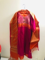 Used Pure Banarsi suit .just used once  in Dubai, UAE