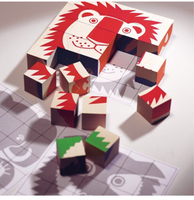 Used Game cubes puzzle for children brand new in Dubai, UAE