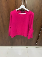 Used Zara, pink shirt  in Dubai, UAE