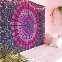Used Handmade Mandala Tapestrt - Purple in Dubai, UAE