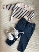 Used Burberry Baby Cashmere Sweater + Jeans in Dubai, UAE