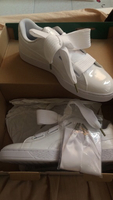 Used Puma Basket heart patent for woman in Dubai, UAE