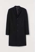 Used H&M coat men's for winter season in Dubai, UAE