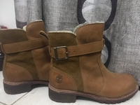 Used Women's Boots with Buckle  in Dubai, UAE