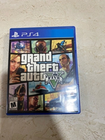 Used GTA 5 ( Game + Map ) for PlayStation 4  in Dubai, UAE