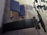 Used Gym exercise benches 2 pieces in Dubai, UAE