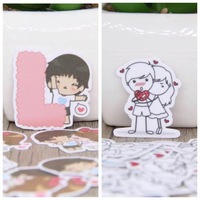 Used Set of 2 kind of love stickers lots in Dubai, UAE