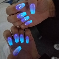 Used Glowing nail powder  in Dubai, UAE