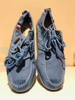Used Men's denim casual shoes size 42 in Dubai, UAE