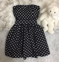 Black and White Polkadots Dress