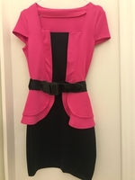 Used Black and Pink Dress in Dubai, UAE