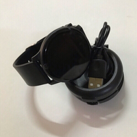 Used Ultra thin body smart watch (new)black in Dubai, UAE