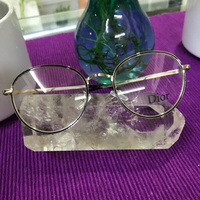 Used Dior Copy Optical Frame/ Silver in Dubai, UAE