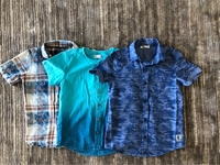 Used 3 T-shirts for boy size 7/8 years old  in Dubai, UAE
