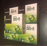 Used 5 Boxes of Sony DVD+R (New) in Dubai, UAE