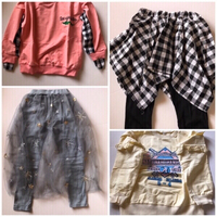 Used Girls casual suits size 130cm(new) in Dubai, UAE