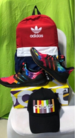Used Adidas Ultraboost rainbow, bag and cap in Dubai, UAE