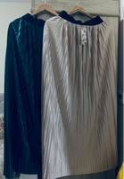 Used Bundle!!2maxi pleated skirts fits S/M/L in Dubai, UAE