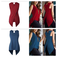 Used 2 top/blouse size M red & blue  in Dubai, UAE