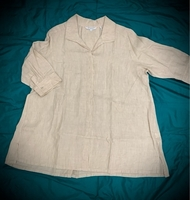Used 100% Linen Top from Nordstrom USA in Dubai, UAE