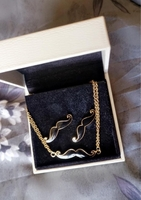 Used Mustache set from Claire's in Dubai, UAE