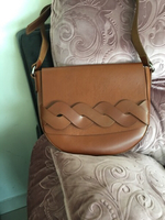 Used Real leather women bag  in Dubai, UAE