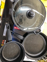 Used Cooking set and Hotpot w/Lock size5700ml in Dubai, UAE