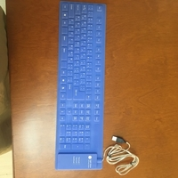 Used Flexible rubber keyboard  in Dubai, UAE