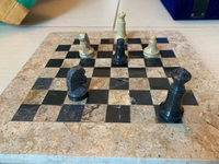 Used Antique Marble Chess Set  in Dubai, UAE