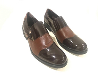 Used New JINGPIN shoes size 44 Black & Brown in Dubai, UAE