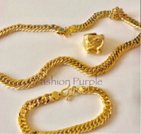 Used Dragon Gold Plated Jewelry  in Dubai, UAE