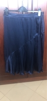 Used Dark navy satin skirt in Dubai, UAE