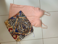 Used Versace style mini skirt and guess top in Dubai, UAE