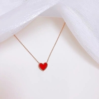 Used Little red heart necklace in Dubai, UAE