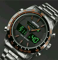 Men infantry military style watch