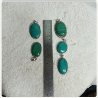 Used 5 pcs Stones Feiruz with Dylver Original in Dubai, UAE