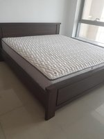 Used 6 x 6 King Size Bed with large Mattress in Dubai, UAE