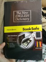 The book hidden safe securty box big siz