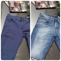 Guess And Hnm Knee length  Denim Shorts