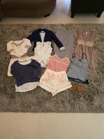 Used Bundle of 9 pieces plus belt: size XS in Dubai, UAE