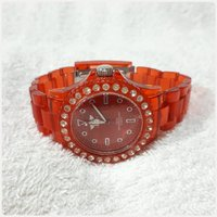 Brand new red London watch for lady..