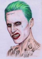 Used Joker drawing in Dubai, UAE