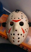 Used Halloween mask hand made in Dubai, UAE