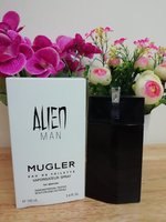 Used Alien man Mugler 100ml edt in Dubai, UAE