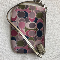 Used Coach colorful wristlet  in Dubai, UAE
