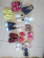 Used Baby girl shoes for 3 to  18 months in Dubai, UAE
