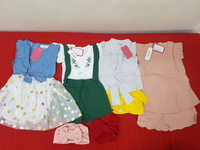 Used Kids dresses 4pc headwear 2pc in Dubai, UAE
