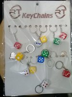 Used Bundle of dice keychains in Dubai, UAE