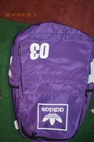 Used Adidas purple bag in Dubai, UAE